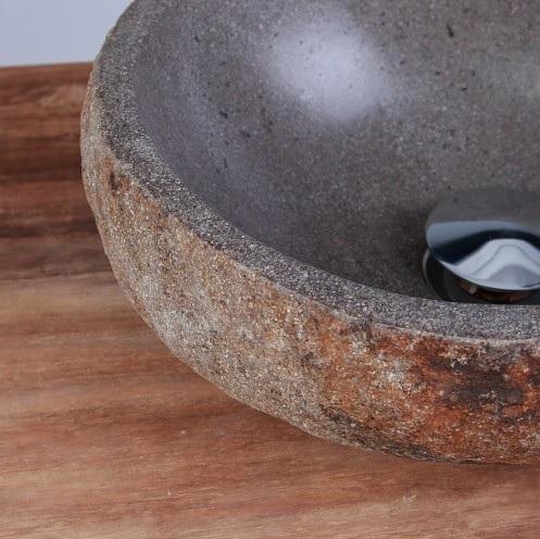 waschbecken aus naturstein innen poliert 30 cm g nstig kaufen. Black Bedroom Furniture Sets. Home Design Ideas