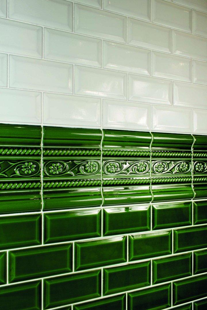 Wandfliese Cevisa Metro Verde Craquele' 7,5x15 cm günstig kaufen!