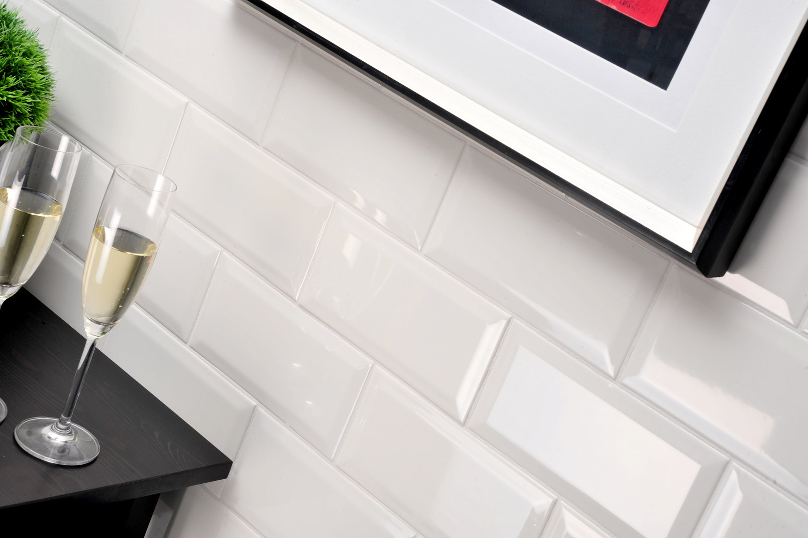 wandfliese homestile metro creme gl nzend 10x20 cm online kaufen. Black Bedroom Furniture Sets. Home Design Ideas