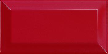Wandfliese Equipe Metro Rosso Glänzend X Cm Online Kaufen - Rote fliesen 30x60