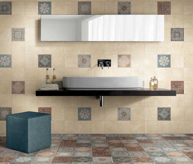 wand u bodenfliese panaria memory mood creamy 20x20 cm. Black Bedroom Furniture Sets. Home Design Ideas