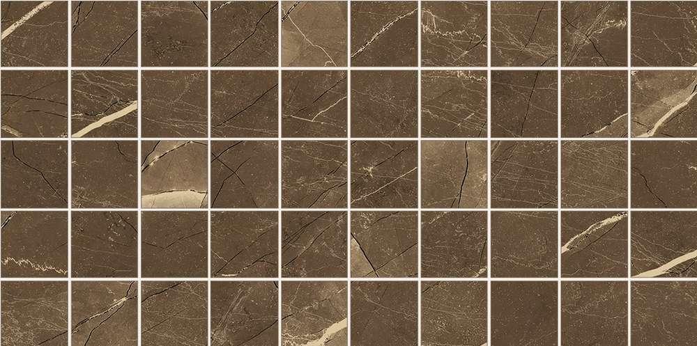 Mosaiktafel Meissen Arkos Braun 22.5x45cm