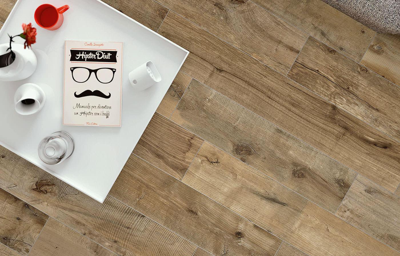Bodenfliese Flaviker Dakota Avana X Cm Online Kaufen - Fliesen holzoptik 80x20