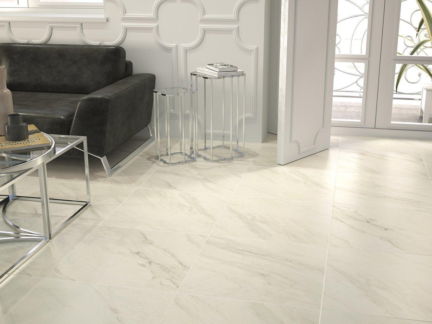 bodenfliese sytebo trivor bianco 60x60 cm g nstig online. Black Bedroom Furniture Sets. Home Design Ideas