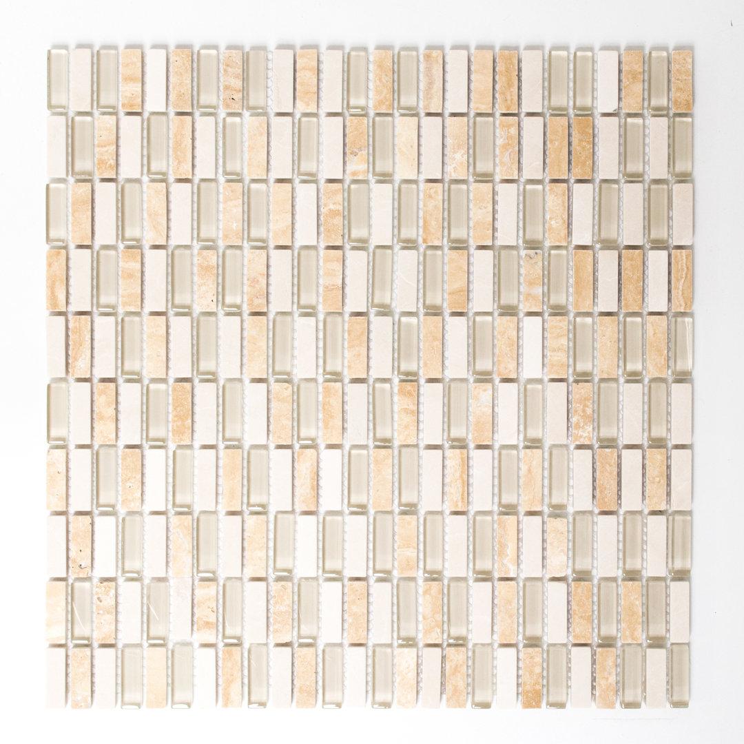 Mosaiktafel homestile crystal stein mix beige 31x31 cm kaufen for Zirconio tegels