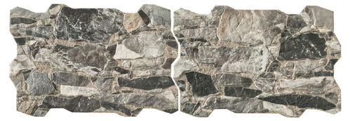 Wandfliese  Homestile Brick Wall Rock Grigio 40x60 cm