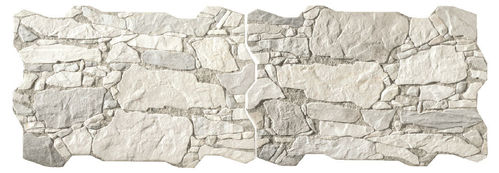 Wandfliese  Homestile Brick Wall Rock Bianco 40x60 cm