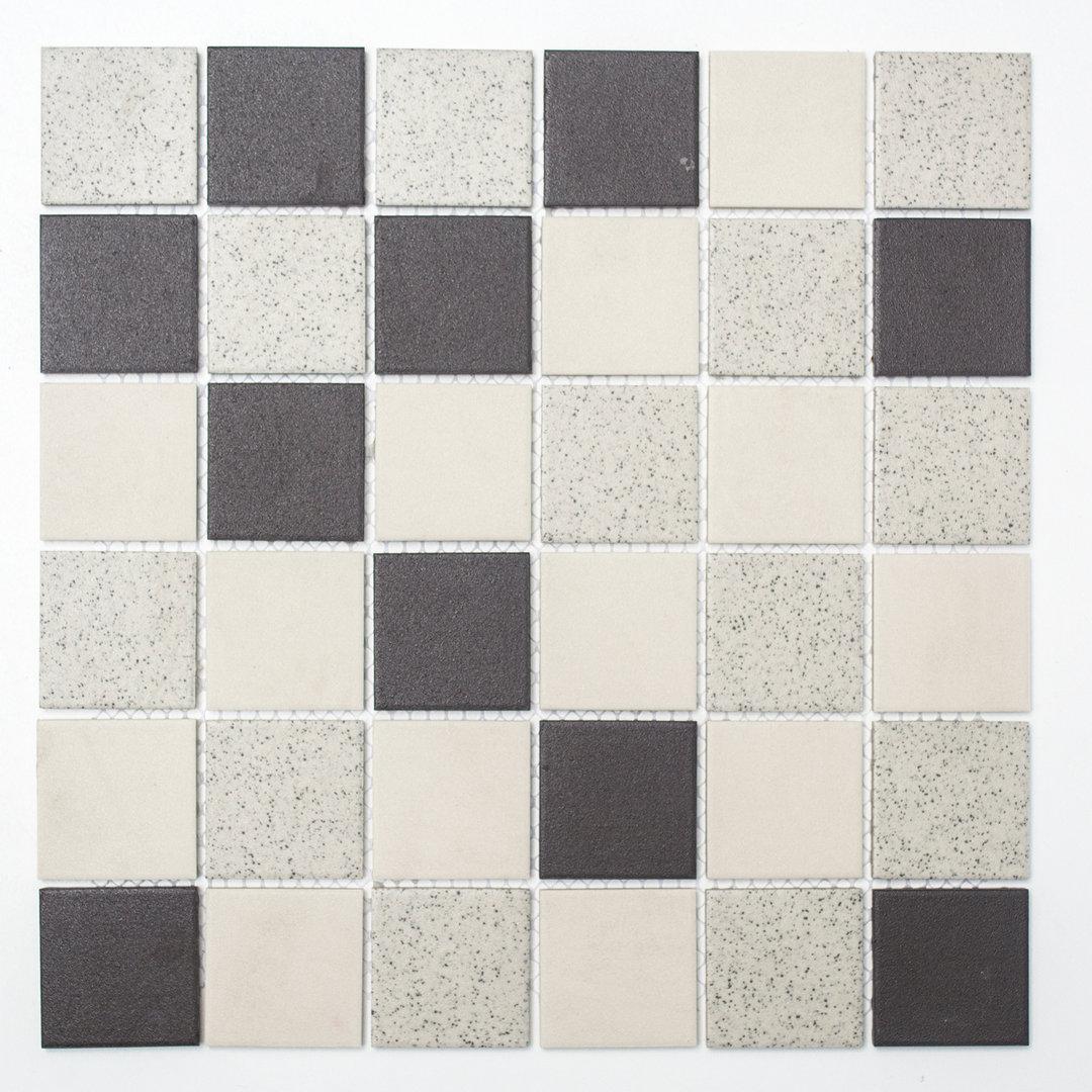 Mosaiktafel homestile quadrat mix unglasiert 30x30cm hier for Zirconio tegels